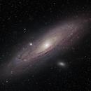 M31  Andromeda w/ DSLR, L-enHance, L-Pro, New Data,                                Jeffrey Horne