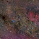 Milky Way in Scutum - NGC6625 - NGC6604 - SH2-54,                                Marco Favro