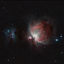 Orion Nebula - 2016/10/10,                                Chappel Astro