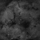 IC1396 (Elephant Trunk Nebula) in H-alpha,                                JDJ