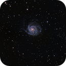 M101 - Pinwheel Galaxy,                                zagers