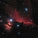 Horsehead & Flame Nebula AT72EDII,                                John Pungello