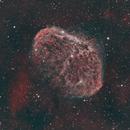 Crescent Nebula NGC6888,                                Yungshih Lee