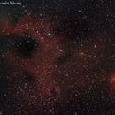 NGC1491 con SH2-205 e SH2-206,                                Fernando De Ronzo