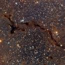 Barnard 150, dark nebula in Cepheus,                                Maurizio Mollica