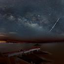 Milky way panorama,                                s1macau