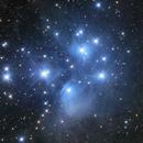 Messier 45 - The Pleiades Star Cluster,                                Dean Jacobsen