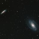 M81 & M82 galaxies,                                Manos