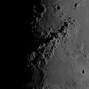 "First Light - New Astro Physics Mak 10"" - Moon,                                AstroHawk"
