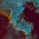 Cygnus Wall (NGC 7000),                                Luca Marinelli