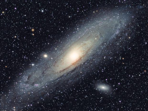 The Andromeda Galaxy (L-RGB) - M31,                                Olivier Ravayrol