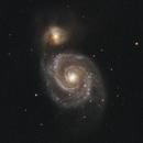 M51 - Whirlpool Galaxy,                                Johan Bakker