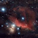 Barnard 33 - Horsehead Nebula,                                StuartJPP