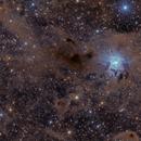 NGC 7023 - The Iris Nebula (rework),                                Oliver Czernetz