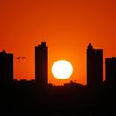 Araxá Skyline and the Setting Sun,                                Odilon Simões Corrêa