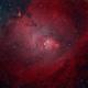 NGC 2264 Christmas Tree and Cone Nebula (HOO),                                v3ngence