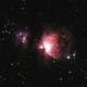 Orion Nebula/ Running Man Nebula M42/NGC1975,                                Rick Daniell