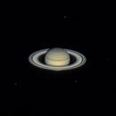 Saturne et ses lunes Dioné, Rhéa Téthys et Encelade - 11/08/2020,                                BLANCHARD Jordan