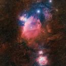 Orion Molecular Complex in HaRGB,                                Elliot Maddox