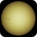 Sun in white light May 8, 2015,                                Bill Mark