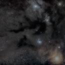Dark nebula  of the Rho Ophiuchi cloud complex,                                Ken Yoshimura