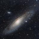 M31 Andromeda Galaxy,                                Mahmange