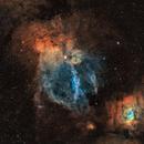 SH2-157 - Lobster Nebula,                                Adrian Criss