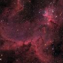 Heart Nebula - IC1805 - RGB with Synth. SHO_Luminance,                                Thomas Richter