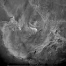 IC2944 Running Chicken in Starless SII,                                John Ebersole