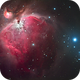 the orion nebula M42,                                andyo