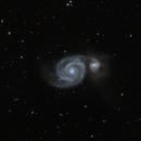 M51 - Whirlpool Galaxy,                                Astroflo