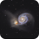 M51, ALL REFRACTOR VERSION.,                                Olly Penrice