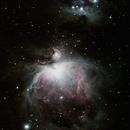 La grande nébuleuse d'Orion,                                William Guyot-Lénat