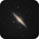NGC 2683 - Galaxie spirale dans la constellation du Lynx,                                Roger Bertuli
