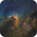 The Cave Nebula - SH2-155 - Caldwell 9,                                Kevin Morefield