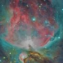 Orion Nebula high resolution,                                Dean Fournier