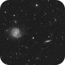 M100 - First light with CGEM DX,                                Mike Kline