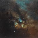 Gum 23 and Gum 22  diffuse nebulae in Vela,                                vijay ladwa