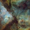 Eta Carinae Nebula Narrowband,                                Kyle Yau
