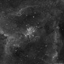 IC 1805,                                Komet