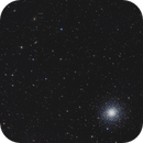 M92 - Globular Cluster in a field of Galaxies,                                Jonathan W MacCollum