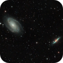 M81 and M82 - The Cigare and Bodes Galaxy,                                D. Jung