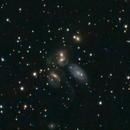 NGC7317 LRGB - Stephan's Quintet,                                andrea tasselli