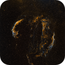 Veil Nebula,                                Zhu Chunguang