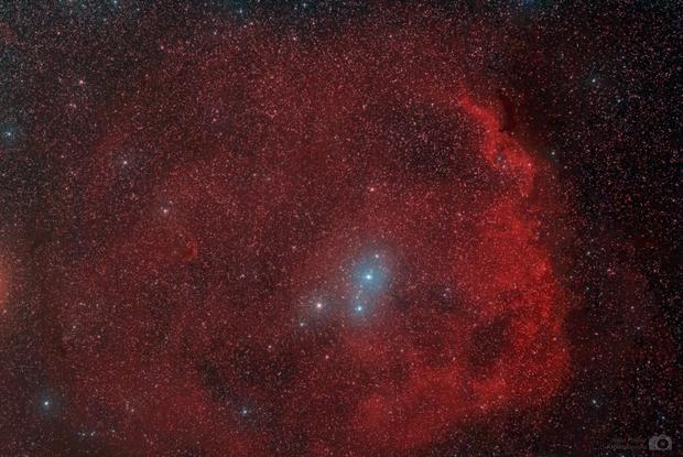 Meissa and SH2-264 nebula,                                J_Pelaez_aab