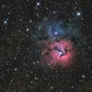 M20 Trifid Nebula,                                TomBramwell