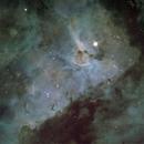 Central Regions of the Carina nebula,                                astrocusanus