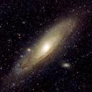 M31 Andromeda Galaxia,                                Astrassierra