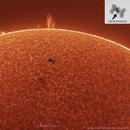 ISS TRANSIT - 25.04.2021,                                Mehmet Ergün
