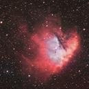 Pacman, NGC281, énième version en HaRVB  cette fois,                                Cedric
